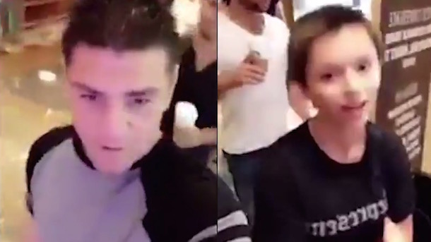 nick diaz conor mcgregor hit a kid with watter bottle