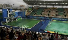 Rio Officials Close Diving Pool Due to Discoloration & it Smelling Like 'Farts'