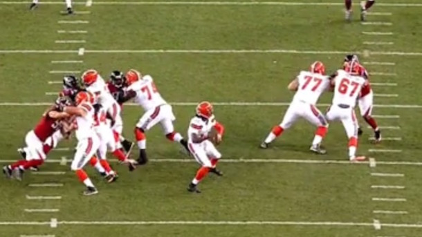 robert griffin iii 50-yard touchdown pass browns falcons