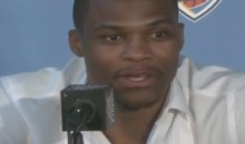 "Westbrook Asked if Durant Leaving For The Warriors Made It Sting More: ""Sting For Who?"" (Video)"