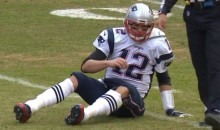Some Scissors and Dirty Cleats Sidelined Tom Brady for Last Night's Preseason Game