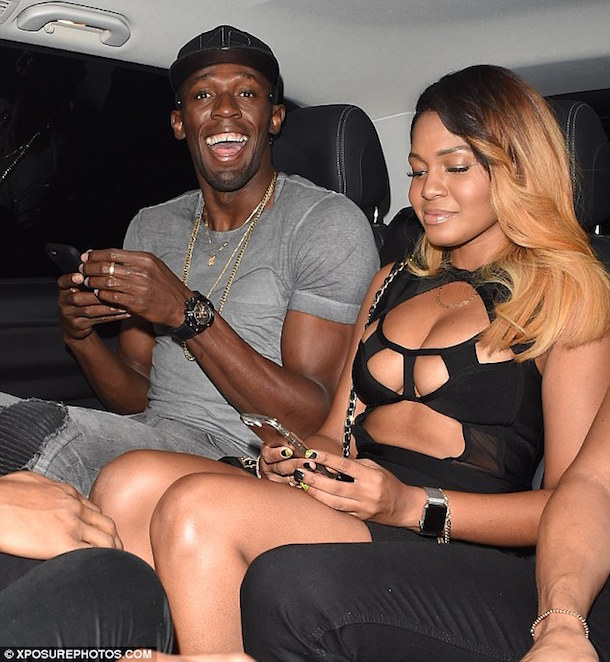 usain bolt brings girls back to london hotel tuesday 1