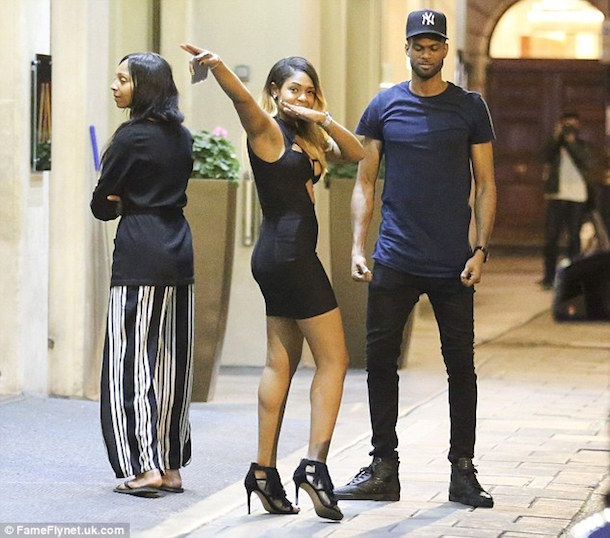 usain bolt brings girls back to london hotel tuesday 2