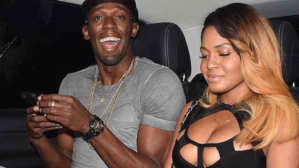 usain bolt parties in london two straight nights