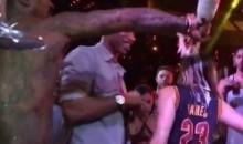 J.R. Smith Sprayed $23K Worth of Champagne Celebrating Cavs Championship