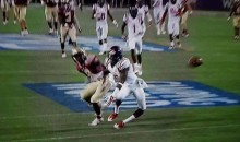 Ole Miss DB Ken Webster Gruesome Leg Injury Against FSU (Video)