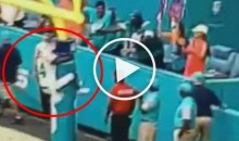 Jarvis Landry Goes Balls-First into Goalpost For Touchdown Celebration (Video)
