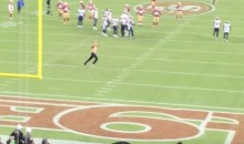 Fan Runs on the Field During Rams-49ers MNF Game (Video)