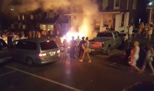 Tennessee Fans Celebrate Beating Florida By Setting Things on Fire (Video)