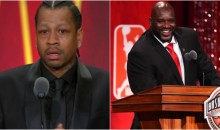 Watch Allen Iverson & Shaq's Entire Hall of Fame Speeches (Video)