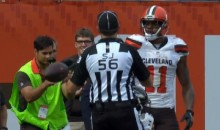 Cleveland Browns Lose game on Worst 'Taunting' Call in History (Video)