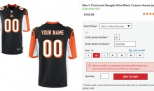 NFL Shop Blocks Fans From Ordering Customized 'Harambe' Jerseys