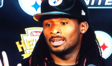 Steelers RB DeAngelo Williams: 'I'm a Nickleback Fan. Don't Judge Me' (Video)