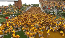 Baylor Students Get Trampled During 'Running of The Students' (Video)
