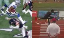 Watch: Ezekiel Elliott Blows Away the Competition in High School Hurdles (Video)
