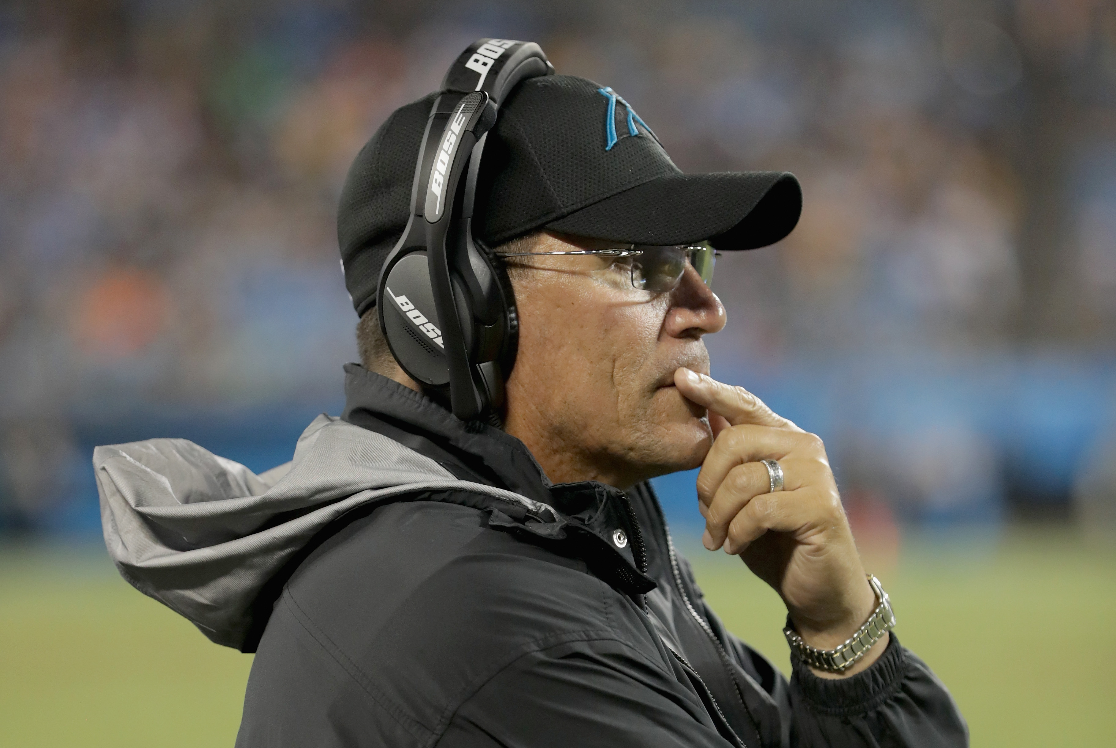Ron Rivera feels 'disrespected' Panthers forced to open on road