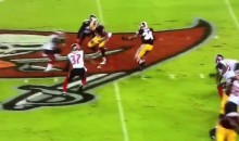 Redskins' Mack Brown Ran in a 60-Yard TD During a Torrential Downpour in Tampa Bay (Video)