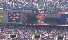Obama Booed At NFL Stadiums Around The League During 9/11 Tribute Message