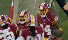 Josh Norman Gets Into Fight With Own Teammate Before Game Even Starts (Video)