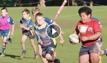 Watch This 8-Year-Old 'Beast Mode' Absolutely Destroy Other Kids (Video)