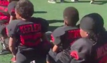 Floyd Mayweather's Pop Warner Team Is Now Kneeling for the National Anthem (Video)