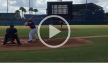 Tebow DESTROYS Homer Run on First Pitch of First Professional At-Bat…Seriously (Video)