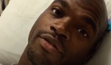 Adrian Peterson Was Doped Up and Singing as He Awoke from Knee Surgery (Video)