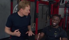 Conan and Kevin Hart HILARIOUSLY Tackle Some CrossFit (Video)