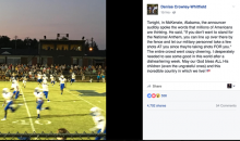Alabama High School Football Announcer Thinks Anthem Protesters Like Kaepernick 'Should Be Shot'
