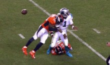 Panthers Not Happy About Broncos' Helmet-to-Helmet Hits on Cam Newton (Video)