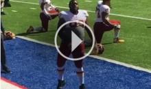 Redskins DE Chris Baker Tells Heckling Giants Fan To 'Suck His D*ck' (Video)