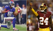 "Victor Cruz Rips Josh Norman For Not Covering Antonio Brown, Calls Himself ""The Best CB in The League"""