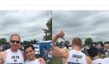 Penn State Fans Wear Shirts Claiming Joe Paterno & Sandusky Were Innocent