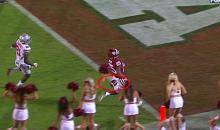 Oklahoma Sooners' Joe Mixon Drops Ball Before Scoring; Refs Didn't Notice (Video)