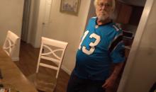 Carolina Panthers Fan 'Angry Grandpa' Goes OFF After 0-1 Start (Video)