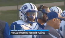 HS Football Player Gets Called N*gger By Classmates After He Wouldn't Stand During Anthem (Video)