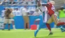 Carolina Panthers WR Kelvin Benjamin With The Catch of The Day (Video)
