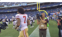 Colin Kaepernick Booed Loudly By All 78 Chargers Fans When He Ran Out on The Field (Video)