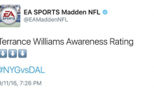 Madden Trolls Terrance Williams After Costing Cowboys The Game