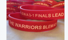 Golden State 'Warriors Blew A 3-1 Finals Lead Wristbands' Available For Sale