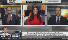 Stephen A. Smith Laughs At The Cowboys For Signing Mark Sanchez (Video)