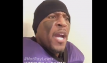 Not Ray Lewis: 'Stephen A. Smith's Hairline is Like a Redshirt Freshman, It Was Held Back For a Year (Video)