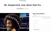 NFL Fan Creates Petition to Force Colin Kaepernick To Cut Off His Afro