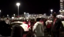 49ers Fan Punches L.A. Rams Fan In The Face After The Game (Video)