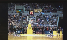 Watch a High Schooler Block Steph Curry's 3-Point Attempt (Video)