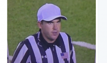 Ref Stops Game Between Rice & Baylor to Tell Fans Not to Point Lasers on Field (Video)