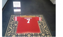 Mattress Store Owner is Using a Kaepernick Jersey as a Doormat (Pics)