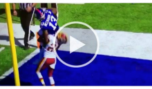 Josh Norman Picks Up Odell Beckham, Carries Him Out Of The Endzone, Drops Him (Video)