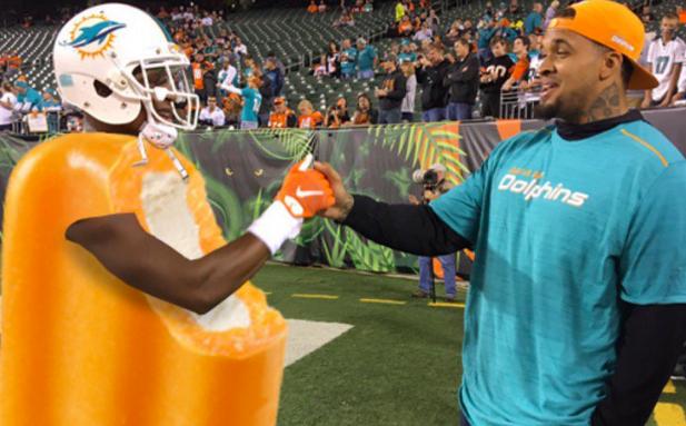 f1a723c77 Social Media Hilariously TROLLS the Miami Dolphins Color Rush Uniforms  (PICS)