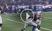Dallas Cowboys WR Cole Beasley Gets LIT UP (Video)